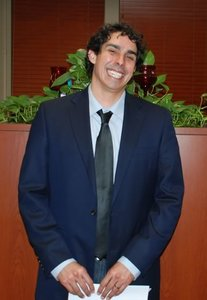 Estefan Ortiz, doctoral candidate in Computer Science and Engineering after successfully passing his candidacy exam