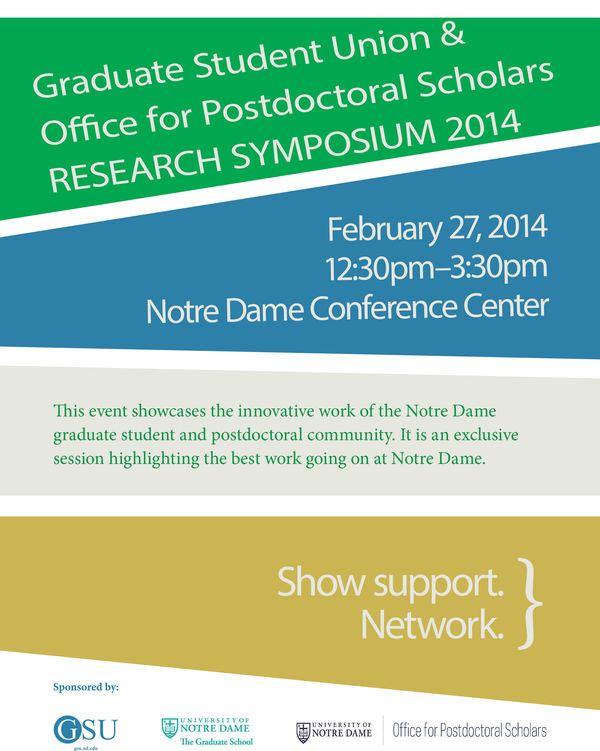 GSU and Postdoctoral Scholars Research Symposium