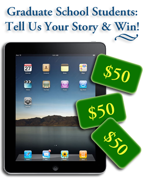 Win an iPad or one of three $50 gift cards