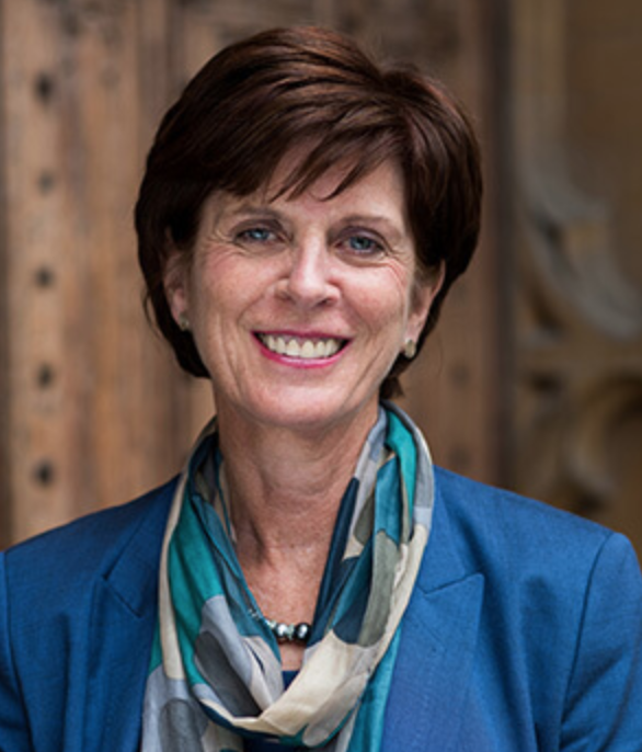 Louise Richardson, vice-chancellor of Oxford and recipient of an honorary degree at Notre Dame's 2018 Commencement