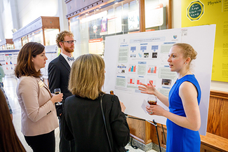 Schmitt Fellows spring dinner & poster session 1 198k jpg