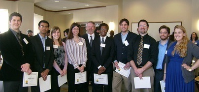 2011 Graduate Research Symposium winners