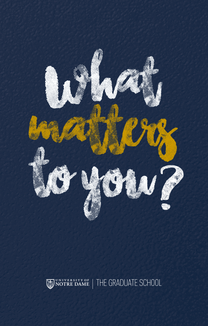 What Matters To You? booklet cover image 378k png