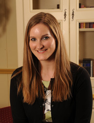 2011 Graduate School Shaheen winner Melissa Ward George