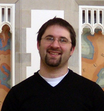 John Engbers, a graduate student who teaches in the Department of Mathematics
