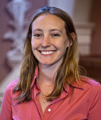 Carolyn Rodak, a graduate student who teaches in the Department of Civil and Environmental Engineering and Earth Sciences